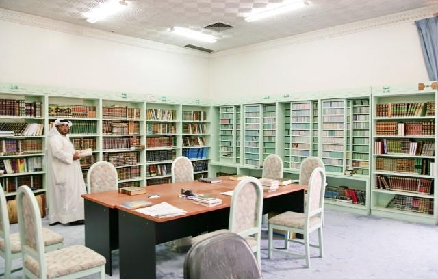 مكتبة مسجد عبدالعزيز المشاري - ضاحية اليرموك_jpg