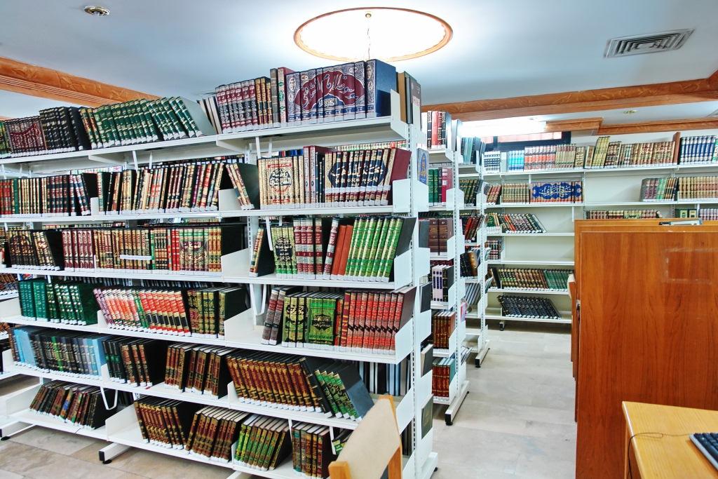 مكتبة المخطوطات ـ لخدمة قسم البحث
